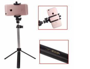 Mini palmare mini treppiede selfie stick Bluetooth Telecomando otturatore pieghevole wireless per iPhone Selfie Stick