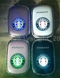 Carregador de Bateria Freeshipping Freeshipping Starbucks Power Bank 12000mAh backup Telefone Portátil