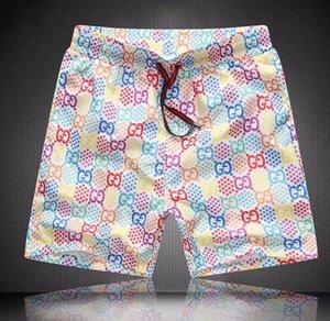 Trend Shorts Mens Beach Shorts New Summer Knee Length Board Casual Striped Short Pants Elastic Waist Breathable Striped gûccì Shorts