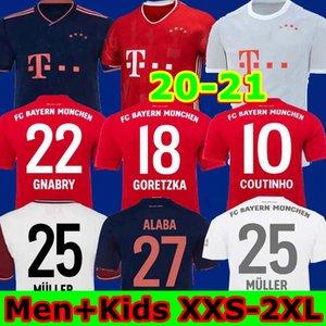 En İyi 20 21 Bayern München futbol forması LEWANDOWSKI 2020 2021 Maç Trikot HERNANDEZ COUTINHO camisa de futebol 120. yıl dönümü maillot