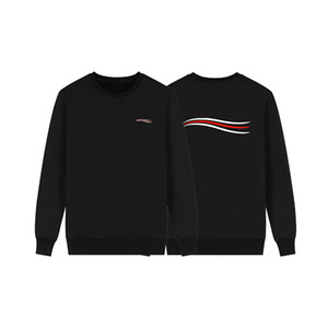Famosa Mens magliette felpate Uomini Donne Felpe Hip Hop Blu Bianco Mens Stylist Hoodie Nero Grigio Autunno Inverno Coat Dimensione M-XXL