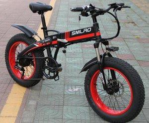 S9f alto precio bicicleta eléctrica 20 pulgadas 750W / 1000W motor 10Ah batería bicicleta plegable eléctrica