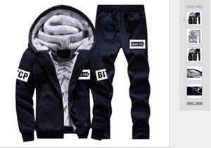 Winter Außenhandel neuen Stil samt Herren Bad Anzug moderne Freizeitmütze Teenagers Sport warmen Anzug
