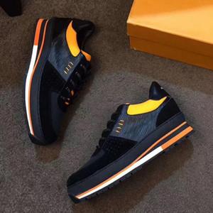 Top Quality 2020 ancien New Men Designer shoe Sneaker men Casual Shoes Trainers Leather Platform Flat Shoes Sports MQ4