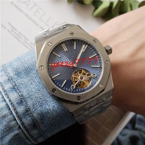 2 stile mens di orologi di lusso Royal Oak 15400 15500 15710 15703 traforato tourbillon meccanico mens impermeabile orologio automatico modo SS 316L