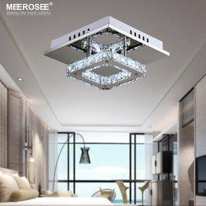 Place LED cristal moderne Lustre pour Aisle Porche Stairs Hall d'entrée wth Ampoule LED 12 Watt 100% Garantie d'éclairage extérieur