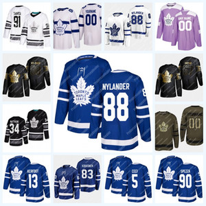 88 William Nylander Toronto Maple Leafs 5 Cody Ceci 13 Kerfoot 67 Harpur Jason Spezza Andersen Tavares Marner Matthews Rielly Джерси