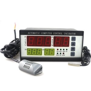 Ketotek AC 110V Thermostat Eierbrutschrank Controller Hygrostat XM-18 Vollautomatische Mikrocomputersteuerung Temperatur-Luftfeuchtigkeits-Sensor