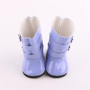 Rain Boots Colori scarpe in forma del regalo del giocattolo di 18 pollici in America 43 Cm Born Baby Doll Clothes Accessori Our Generation Birthday Girl