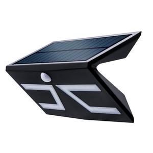 lámpara de pared solar 5W COB Watrproof IP65 luces solares al aire libre | Sensor de movimiento de Seguridad LightsWireless, montado en la pared luces de inundación recargables