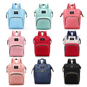 Grande capacità impermeabile maternità zaino di modo mamma Zaini Pannolini Diaper Bags Madre Borse sacchetti esterni di viaggio di cura C6807