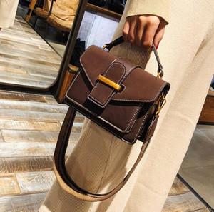 Discount Designer Handtaschen 2018 Fashion New Version des Trends der Retro-Handtaschen Schulter Diagonale Paket matte Klischees Frauentasche