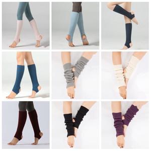 Pierna de Ballet Mantenga las piernas medias del otoño danza de punto Warm Proteja Yoga manga América Calcetines mujeres de los niños al aire libre Uso 7 8mx H1