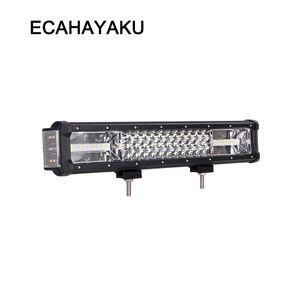 ECAHAYAKU 측면 조명 232W LED 작업 표시 줄 지프에 대 한 16 인치 offroad ATV 트럭 자동차 스타일링 콤보 빔 안개 조명 램프를 운전