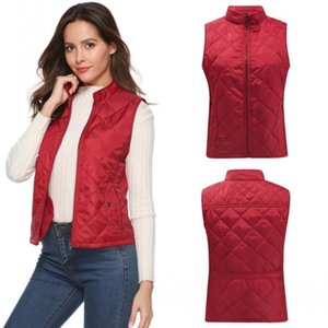 2020 New Autumn and Winter Pocket Sleeveless Women's Vest Fashion Designer Jackets Vests for Women Sleeveless Outerwear