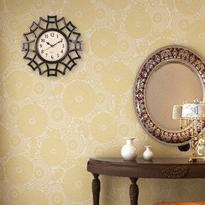 Abstract Wall Clock Nordic Jahrgang Ziffer Geometric Wanduhr Quarz Mordern Home Design Dekorative Supplies Schwarz