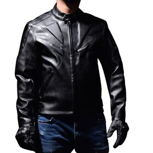 Racing suit winter fall winter motorcycle suit anti-fall leather PU leather sports jacket motorcycle racing jacket