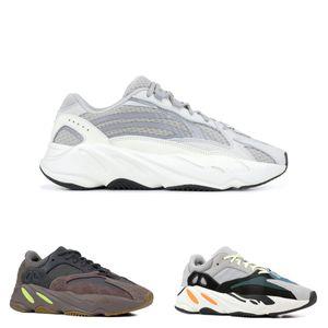 2019 New Wave Runner 700 V2 Statisch 3 Mt Material Mauve Kanye West Turnschuhe Männer Frauen Designer Laufschuhe Sport Mit Box Größe US5-13