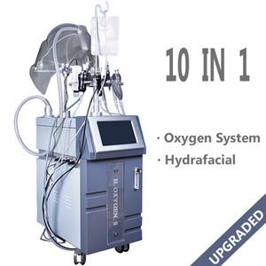 Ojos multifuncionales Cuerpo Cara Cuidado de la piel Pro 5 en 1 Máscara de oxígeno hipeperbárica RF Ultrasonido BIO Fotón Rejuvenecimiento de la piel Máquina