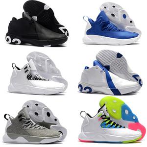 2019 MVP Basketbol Ayakkabıları Son 23 Ultra Süper Fly 3 X Slam Dunk Erkekler Adam Zapatillas Gri Klasik Spor Sneakers Ayakkabı Boyutu 40-46