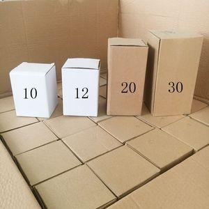 50 stücke DHL 30Oz 20z isolierter Tumbler Edelstahl 10Oz 36z Wasserflasche 32Oz Hundeschüssel 12oz Kinderflasche 14 Unzen Tumbler Becher Magnetische Deckel