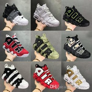 Pinstripe 96 QS Camo Knicks Olympic Varsity Maroon More Mens Baseball Shoes Tri-Color 3M Scottie Pippen Uptempo Sneers Size 13