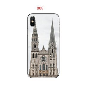 NeCreative iPhone Kılıf için iPhone XR Notre Dame de Paris Parlak Güz Gününde Düşmeye Dirençli Uygun Koruyucu Kılıf büyük kalite