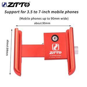 Bicycle Phone Rack Adjustable Roatation CNC Mobile Phone GPS Bracket On For Motorcycle MTB Road Bike Hnadlebar Stand Holder