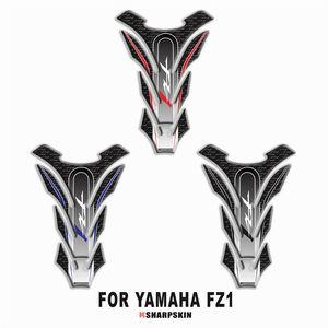 Motocicleta 3D tanque de combustible almohadilla adhesiva protectora calcomanía decorativa para YAMAHA FZ1 Tank Pad pegatinas