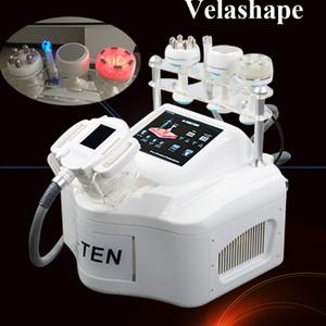 Meilleur résultat vide rouleau machine mise en forme du corps mince de corps velashape cavitation à ultrasons haute fréquence machine minceur velashape DHL Livraison gratuite