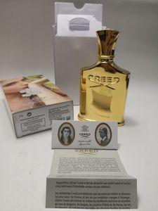 Nouveauté Nouveauté Creed Imperial Millesime Parfum 120ml CREED Aventus pour ses femmes peut utiliser une bouteille d'or avec un parfum de longue durée et durable