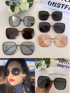 Have stamps Popular fashion High version luxury classic Designer sunglasses Radiant mirror vintage style Lovers design classical with BOX