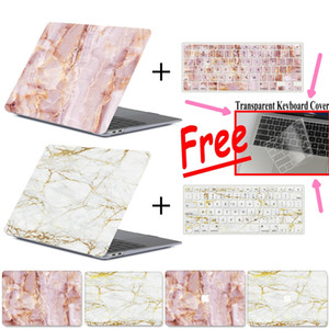 Marble Hard Cover Laptop Case pour Apple Macbook Air Pro Retina 11 12 13 15 Mac Book 15,4 13,3 pouces tactile bar + clavier Couverture