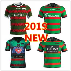 2019 2020 Güney Sidney Rabbitohs Ev Anzak ragbi Formalar Ulusal Rugby Ligi yetişkin forması 1819 Sidney Tavşan rugby forması