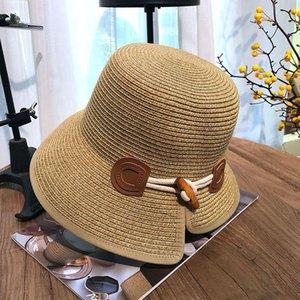 Paille pêcheur crème solaire chic et pliable pêcheur crème solaire femme résistant aux UV soleil chapeau chapeau de paille femme