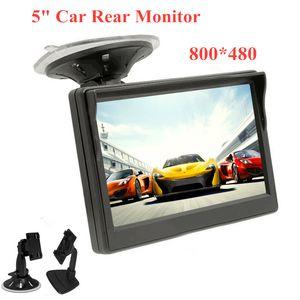 5-дюймовый автомобильный монитор 800*480 TFT LCD HD экран для заднего заднего заднего вида резервного монитора system12-24V