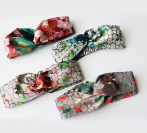 2020 fascia elastica di progettazione per le donne Hairband modo per le donne Retro ragazza Turbante headwraps regalo di colore superiore 5clour