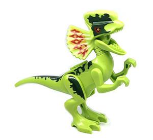 Wholsale Jurassic Park Dinosaurier Bauklötze Velociraptor Tyrannosaurus Rex Bauklötze 8-12cm Jurassic World Kid Spielzeug Geschenke