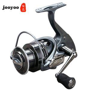 Pesca Reel Full Metal Carretel de Pesca Spinning Wheel Combater 5,5: 1 alta velocidade Reel Série 13 + 1BB Reservoir Pond