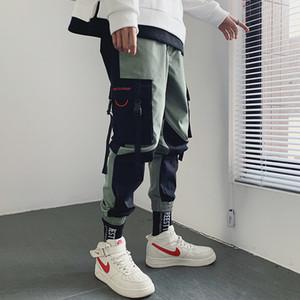 Salopettes marée hommes pieds de faisceau de marque lâche neuf section mince filet d'été rouge points de pantalon décontracté version coréenne de la tendance