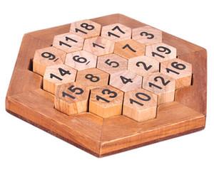 Math Wood Game Spielzeug Mind Brain Teaser Holzpuzzles für Erwachsene Kinder Kinder
