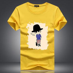 Casual New 2019 Spring Mens Short Sleeve Urban Fashion T-shirt