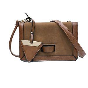 Free2019 Tide Bag Frau Korean Winter Oblique Satchel Width Straps Einzel Schulter Small Square Package