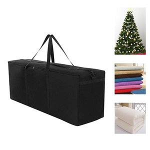 600D Oxford Fabric Outdoor Furniture Cushion Storage Bag Christmas Tree Organizer Home Large Capacity Sundries Finishing Contain
