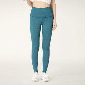 Lu-2-Herbst-Winter Elastic Abdomen Hip Heben Yoga Pants Frauen breathable Schnelltrockner Sport Hose mit hohen Hüfte Mädchen-Frauen kleiden plus Größe m