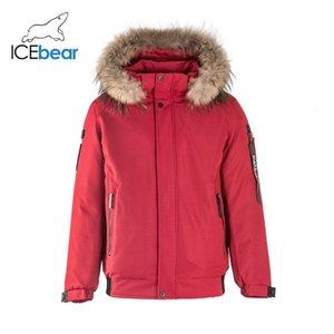 İcebear 2019 Yeni Kış Erkek Coat Moda Erkek Giyim Kapşonlu Ceket MWD19626I Y191211
