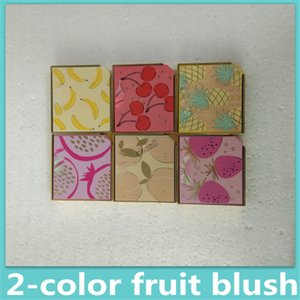 2019Nouveau maquillage de haute qualité Blush Face Tutti Frutti Cocktail de fruits Blush Duo Highlightin Combined 6 Styles Blush Free Ship