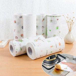 80 fogli di carta da cucina carta olio di assorbimento dell'acqua assorbimento di carta da cucina panno usa e getta asciugamano Free shipping