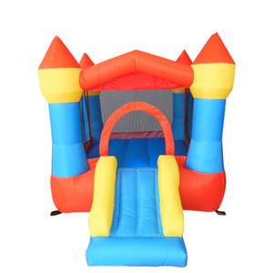 Slide barato Castillo inflable juegos para niños al aire libre Infantil Niños de salto del trampolín parque de atracciones hinchables suave Área de juego