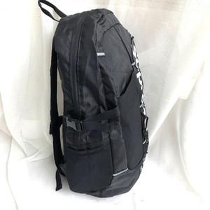 SUP отражают дизайн роскошный унисекс плечо школьный рюкзак дорожные сумки большой емкости открытый молния Soild нейлон мужской водонепроницаемый рюкзак